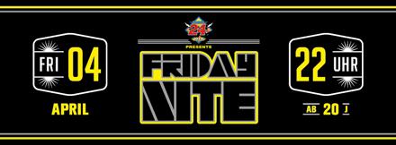 FridayNite am 4.4. im Plaza