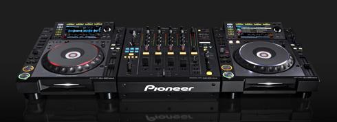 DJ-Setup von Pioneer
